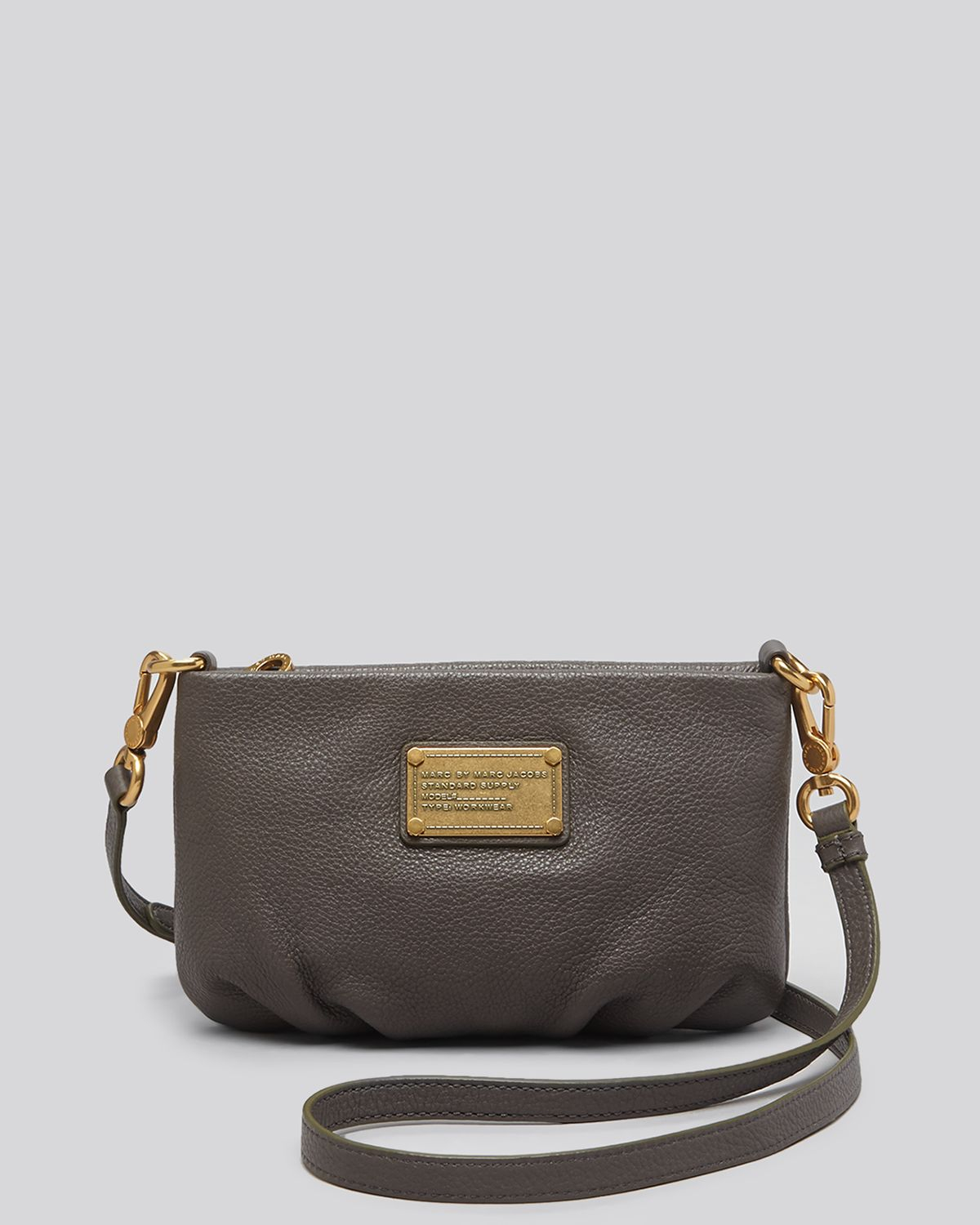 5a9487eeeff8 Lyst - Marc By Marc Jacobs Crossbody - Classic Q Percy in Gray