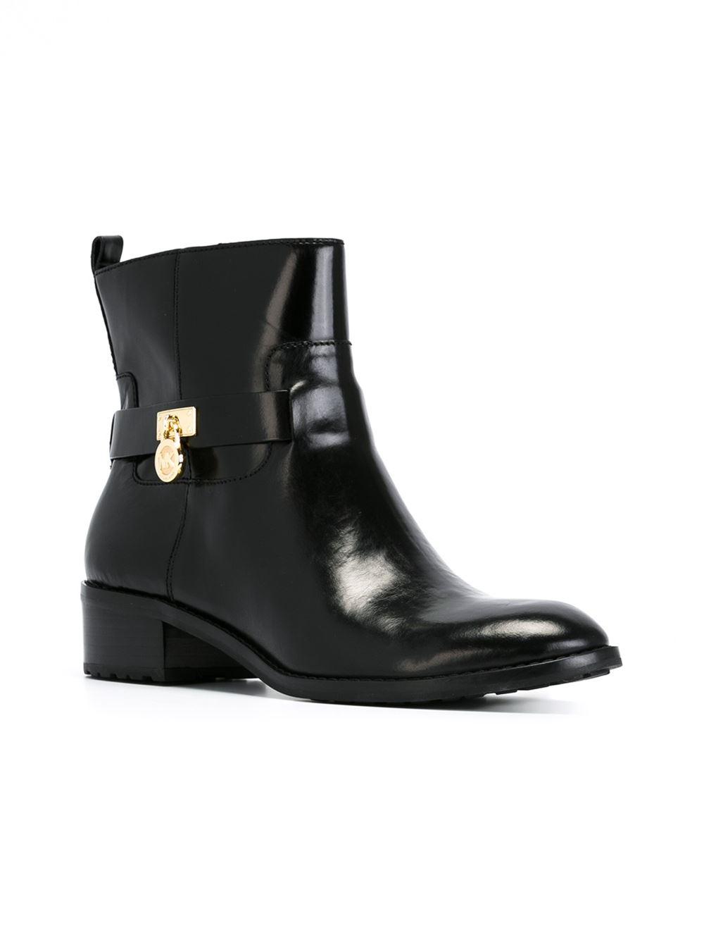 5648208c62fe Lyst - MICHAEL Michael Kors  ryan  Boots in Black