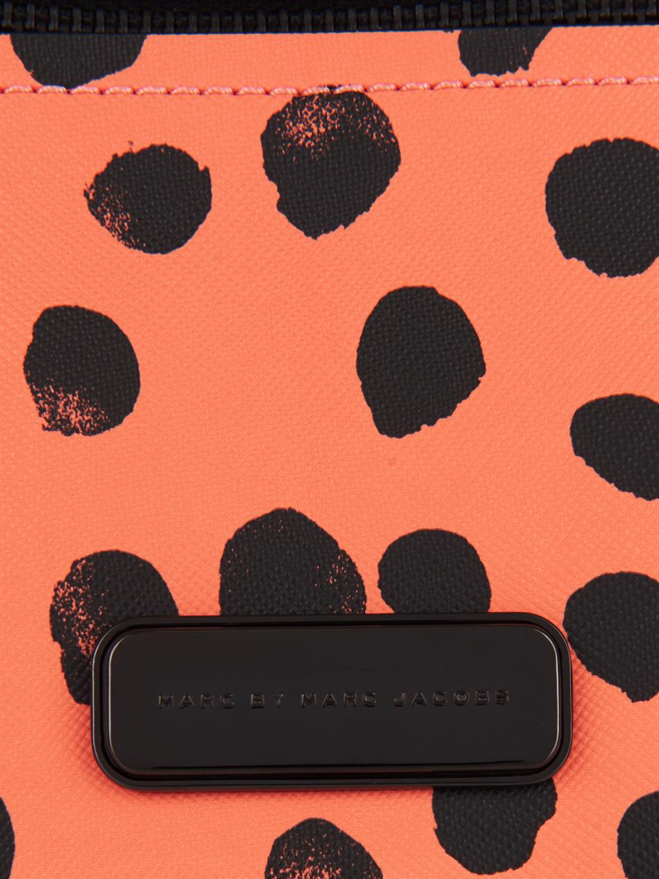 Marc By Marc Jacobs Sally Polka Dot-Print Cross-Body Bag in Pink