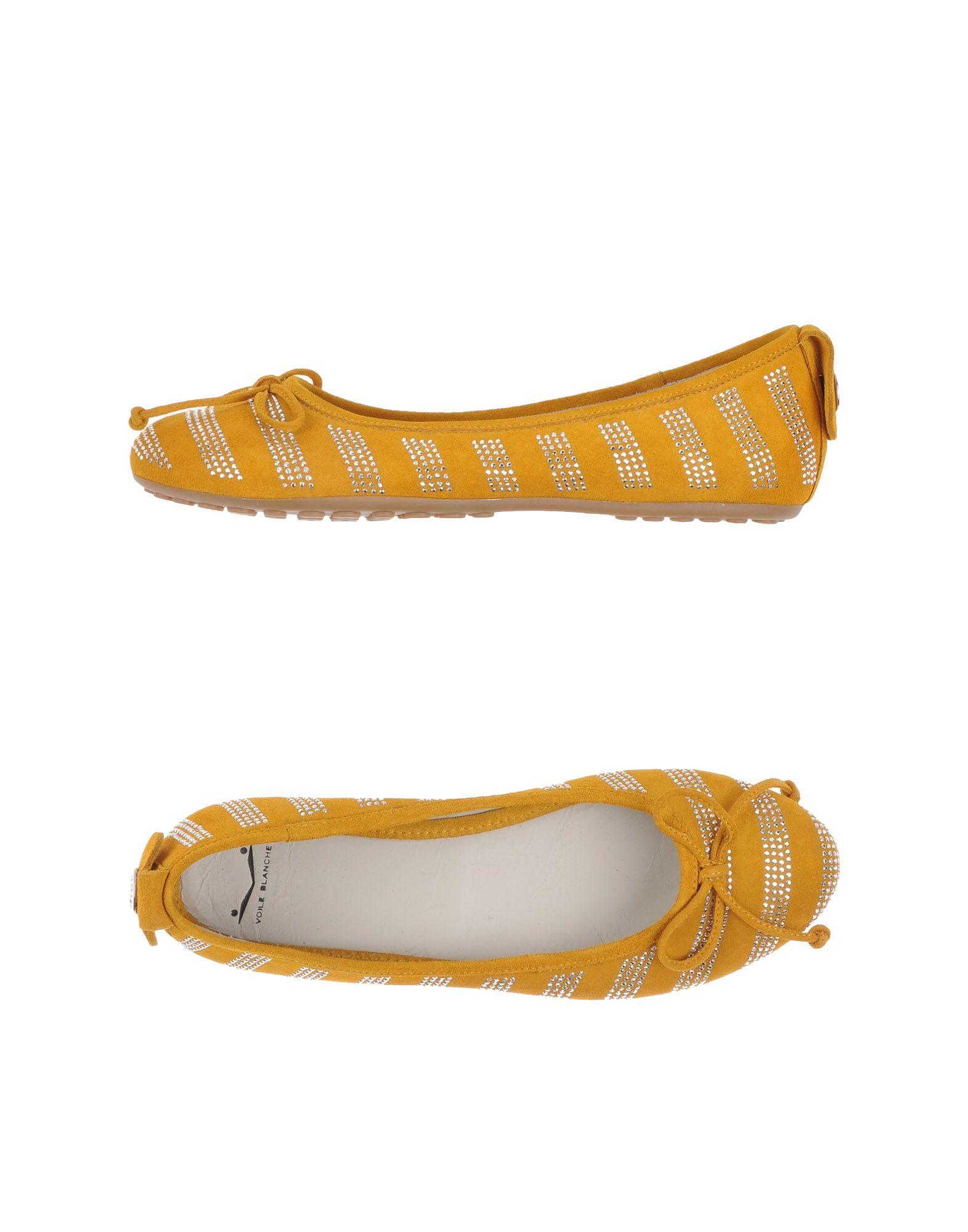 Ochre Flat Shoes