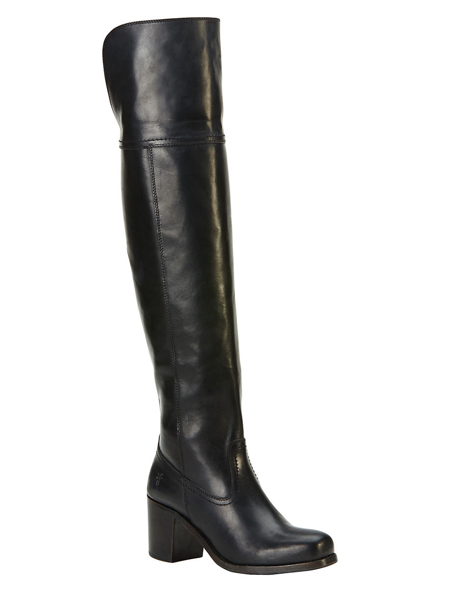 Frye Kendall Knee-high Leather Boots in Black - Save 6% | Lyst