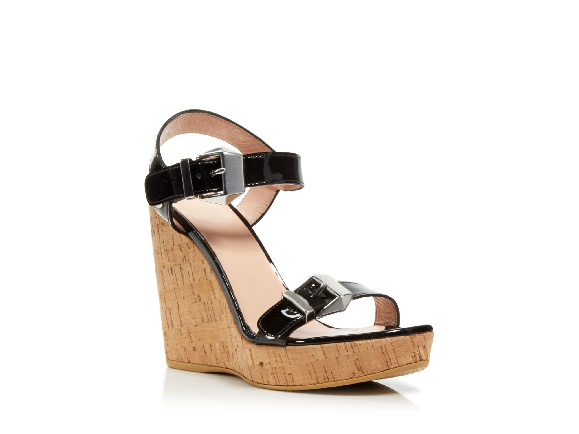 Ankle Strap Platform Wedge Sandals Twomuch Cork Stuart Weitzman Ankle Strap Shoes