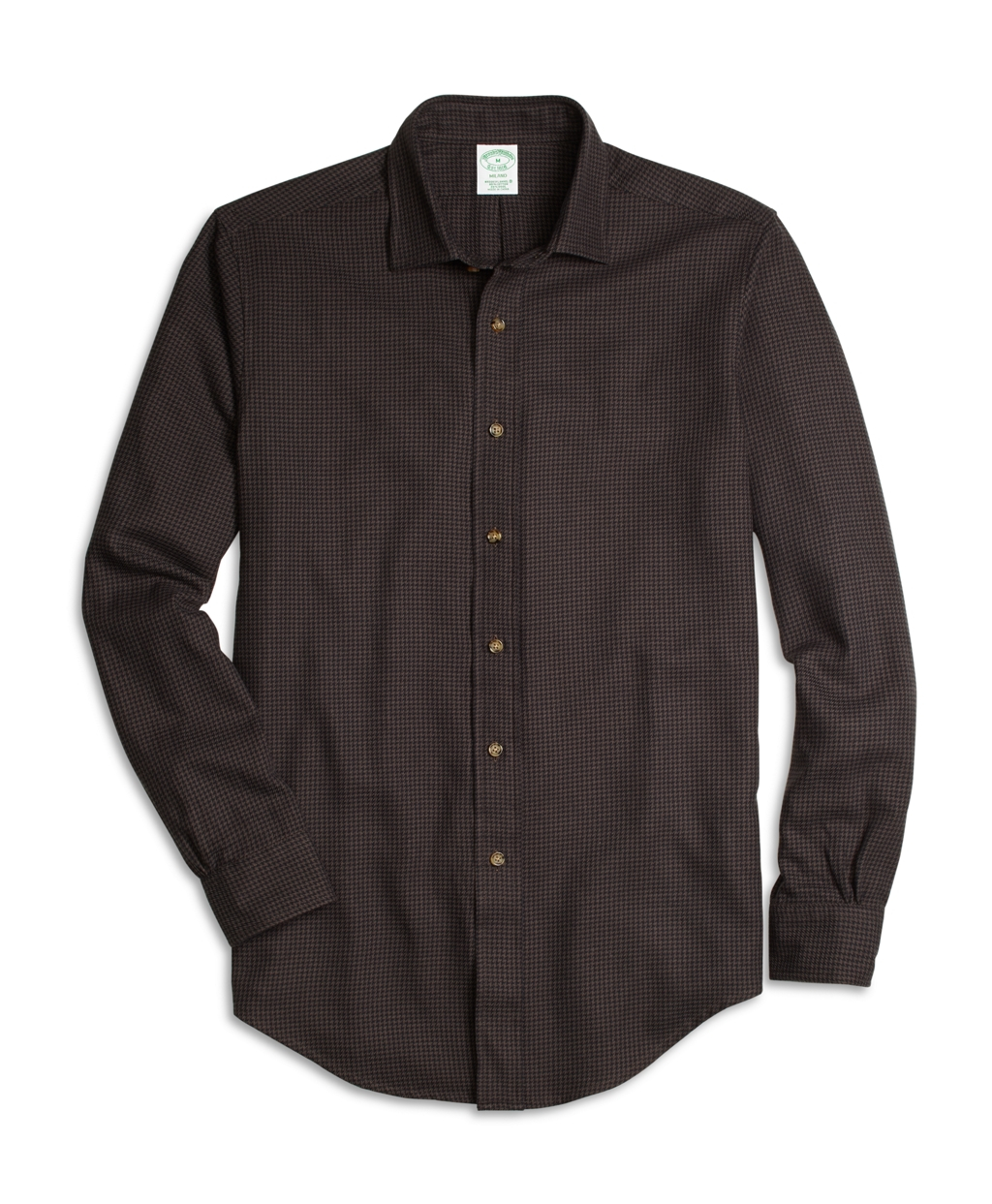 Lyst brooks brothers brooksflannel madison fit for Brooks brothers sports shirts