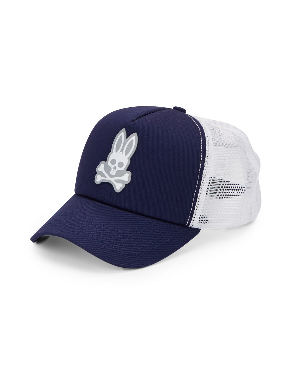 Lyst - Psycho Bunny Perforated Two-tone Baseball Cap in Blue for Men a01a1b7f8f7