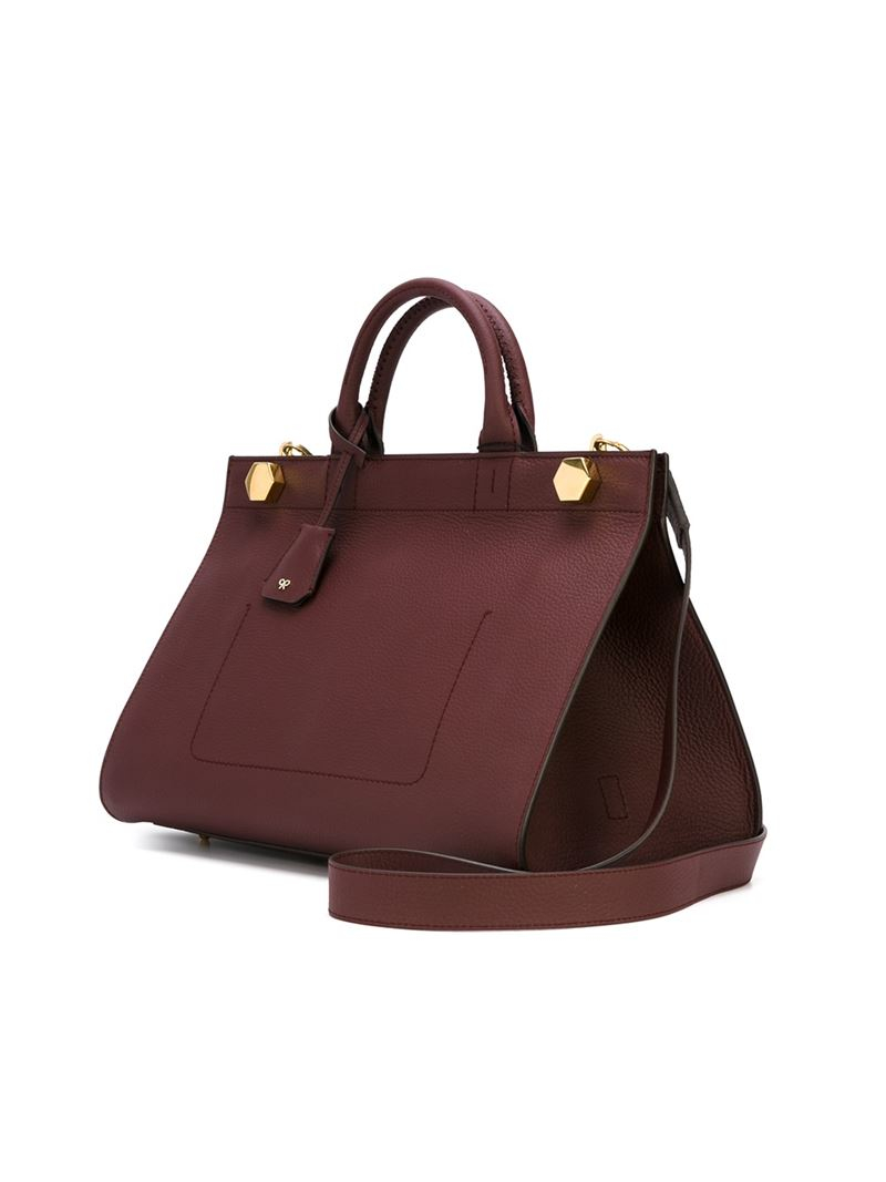 Anya hindmarch 'ephson' Tote Bag in Red