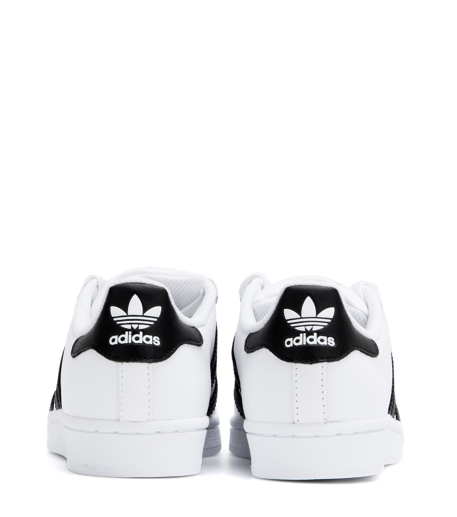 buy online 8052b 0b778 adidas Superstar Leather Sneakers in White - Lyst
