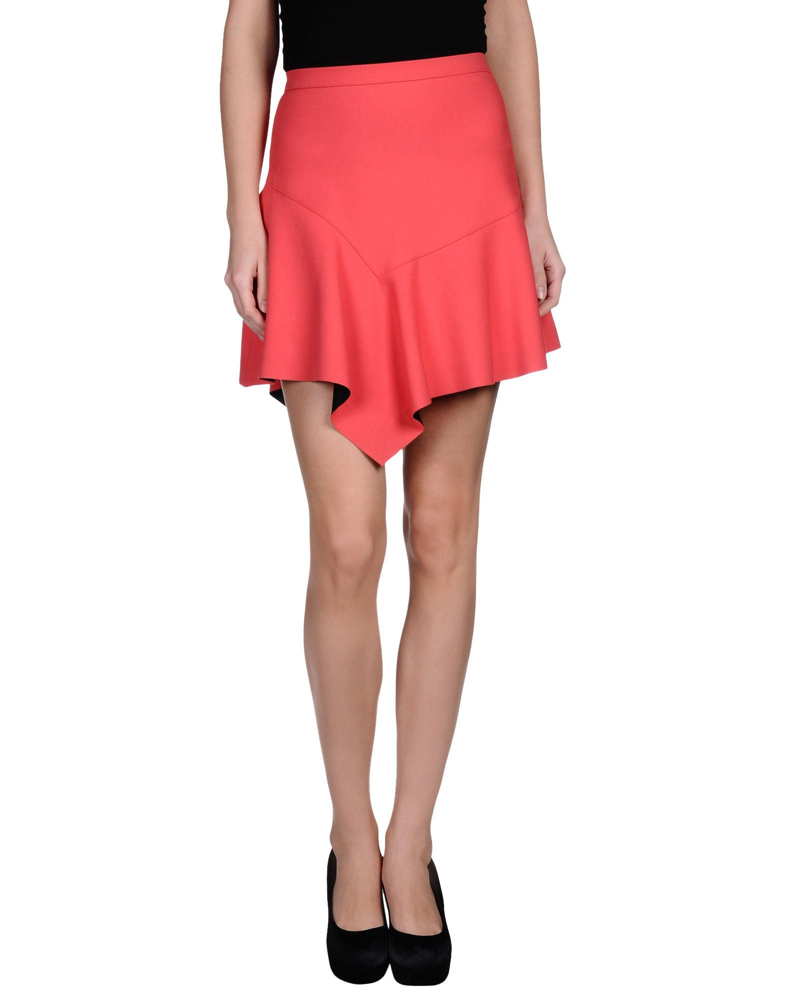 Elegant Red Lace Halter Chemise - Women