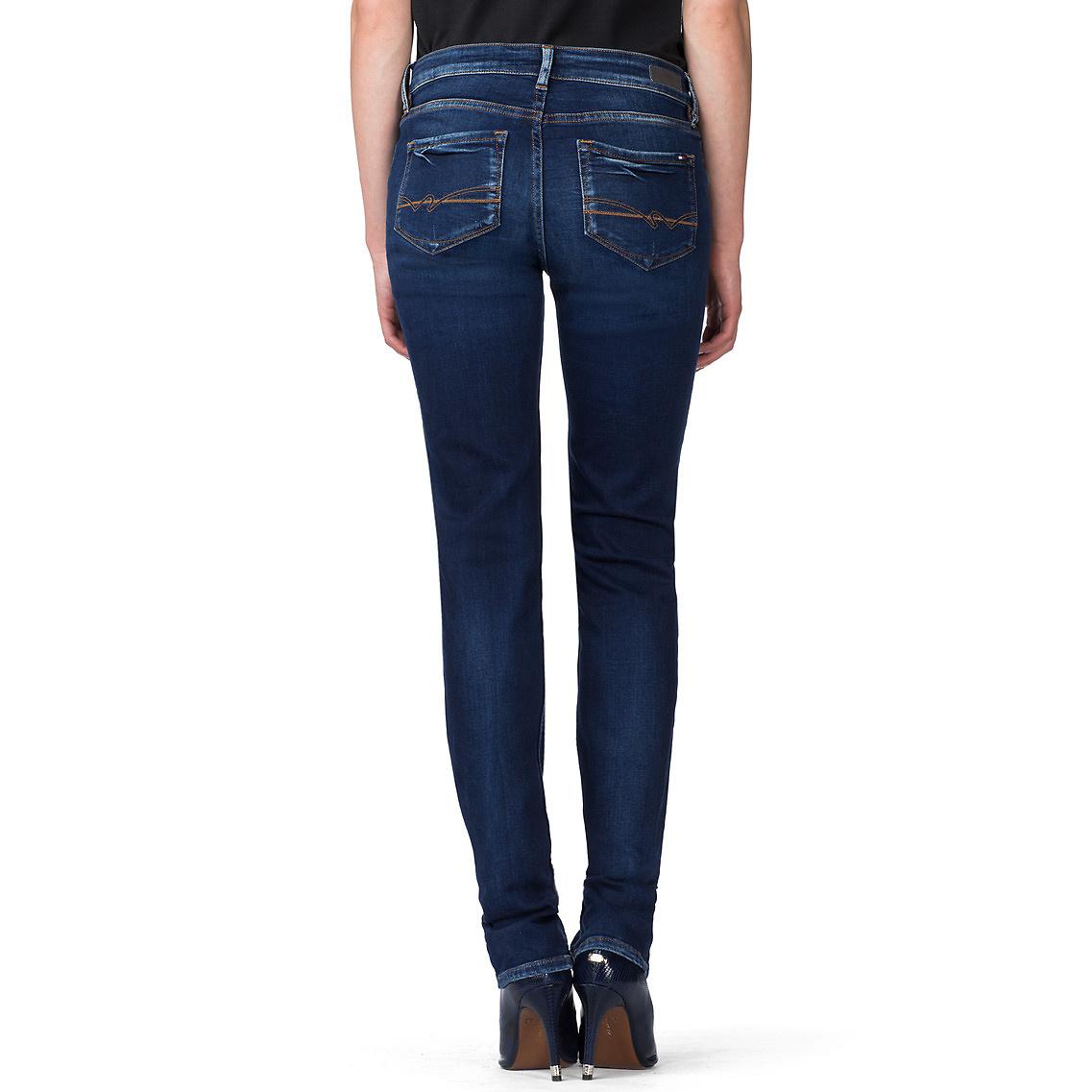 aa68200ea8e Tommy Hilfiger Madrid Straight Leg Jeans in Blue - Lyst