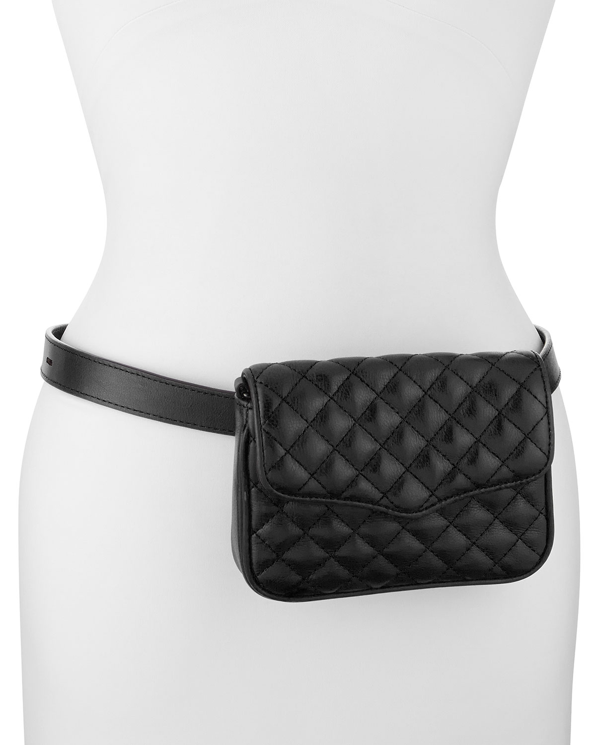 Lyst Rebecca Minkoff Affair Quilted Leather Flap Top