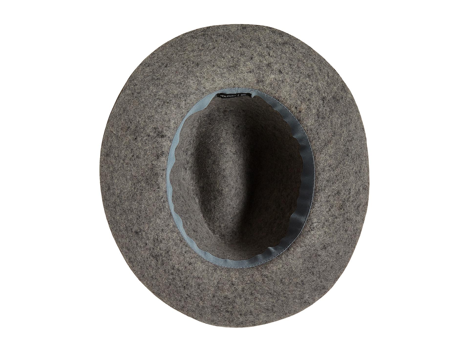7e797d9d9f511 Lyst - Volcom Buckaroo Fedora Hat in Gray