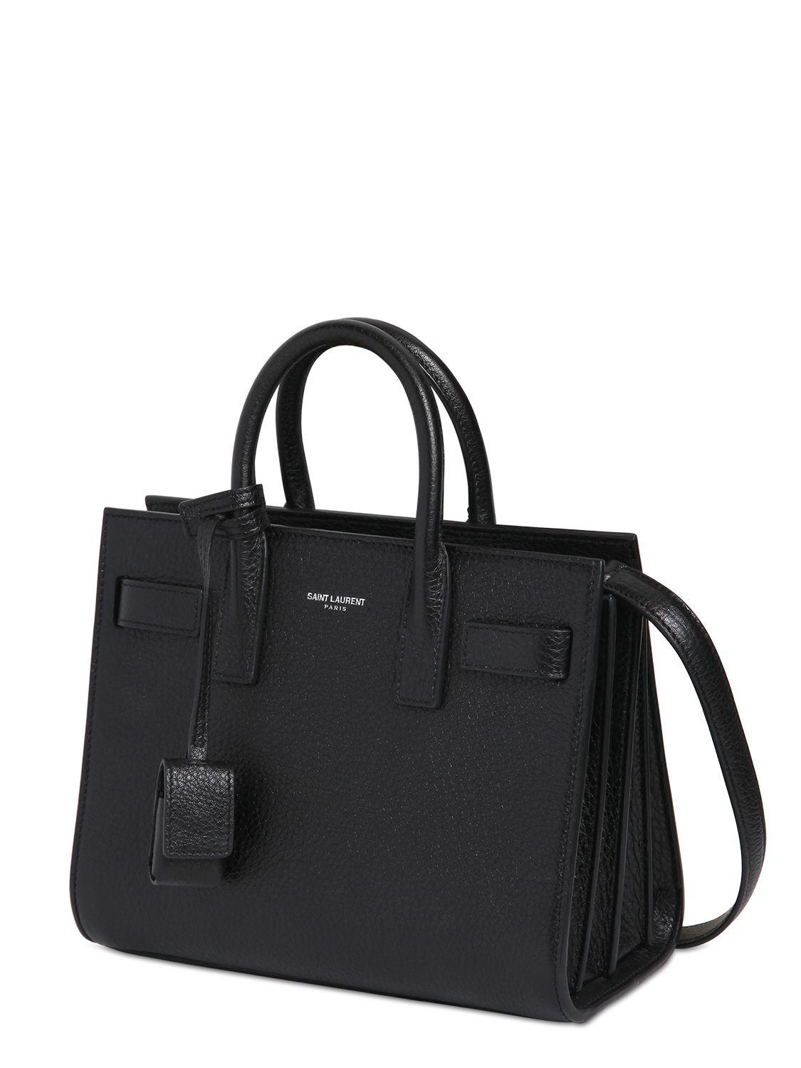 Yves Saint Laurent Nano Sac De Jour Carryall Bag Ysl Sac