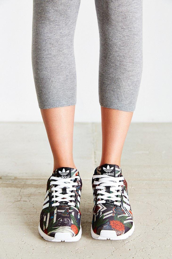 Cipők adidas Zx Flux Smooth W S82890 Cwhite/Cblack Lapos