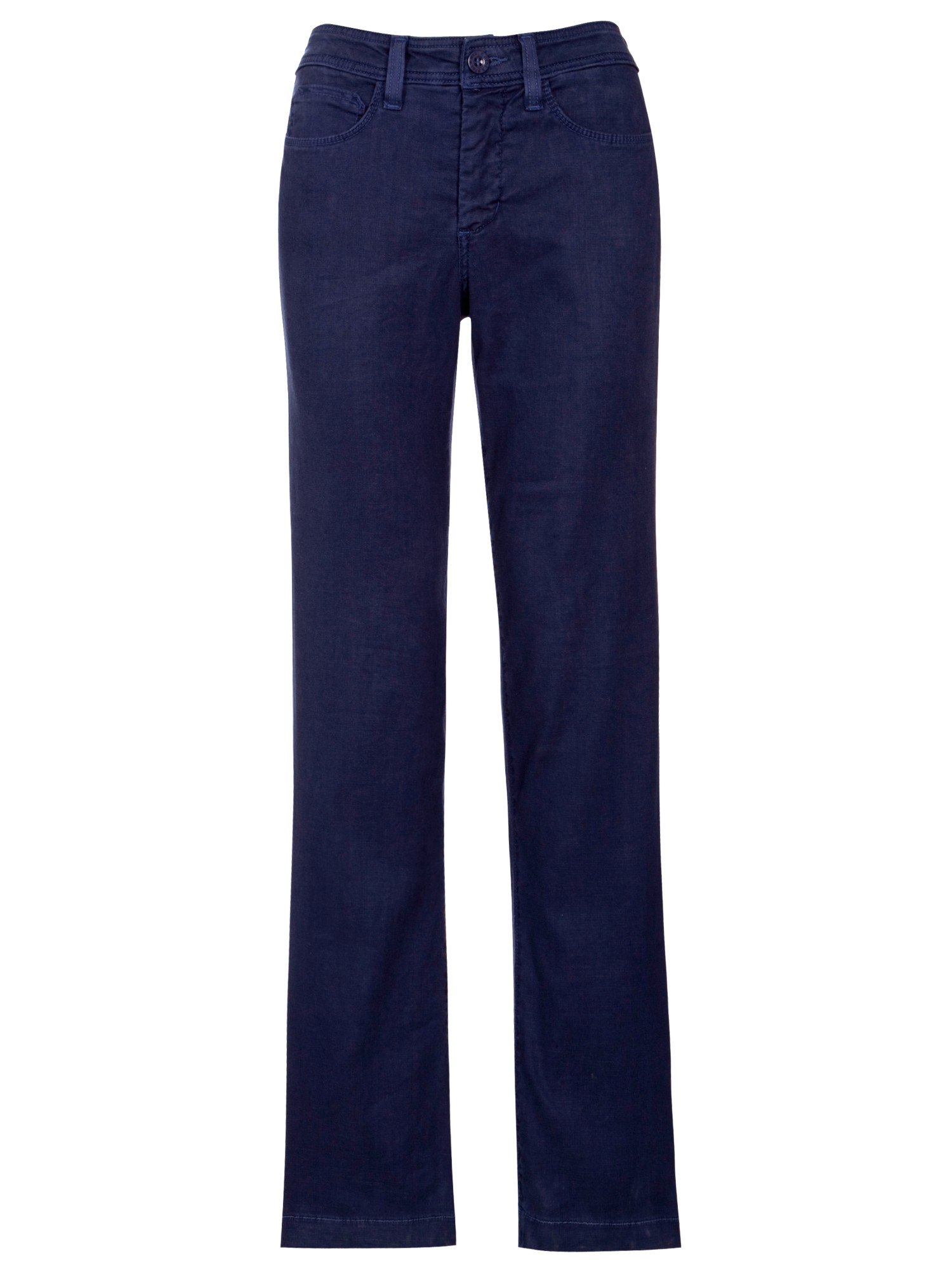 Not Your Daughter's Jeans Linenblend Wide Leg Trousers in Blue