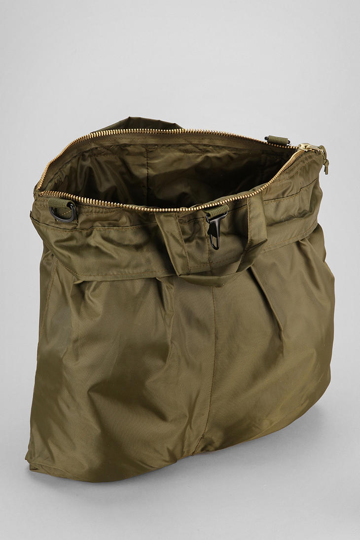urban outfitters rothco gi flyers helmet bag in olive