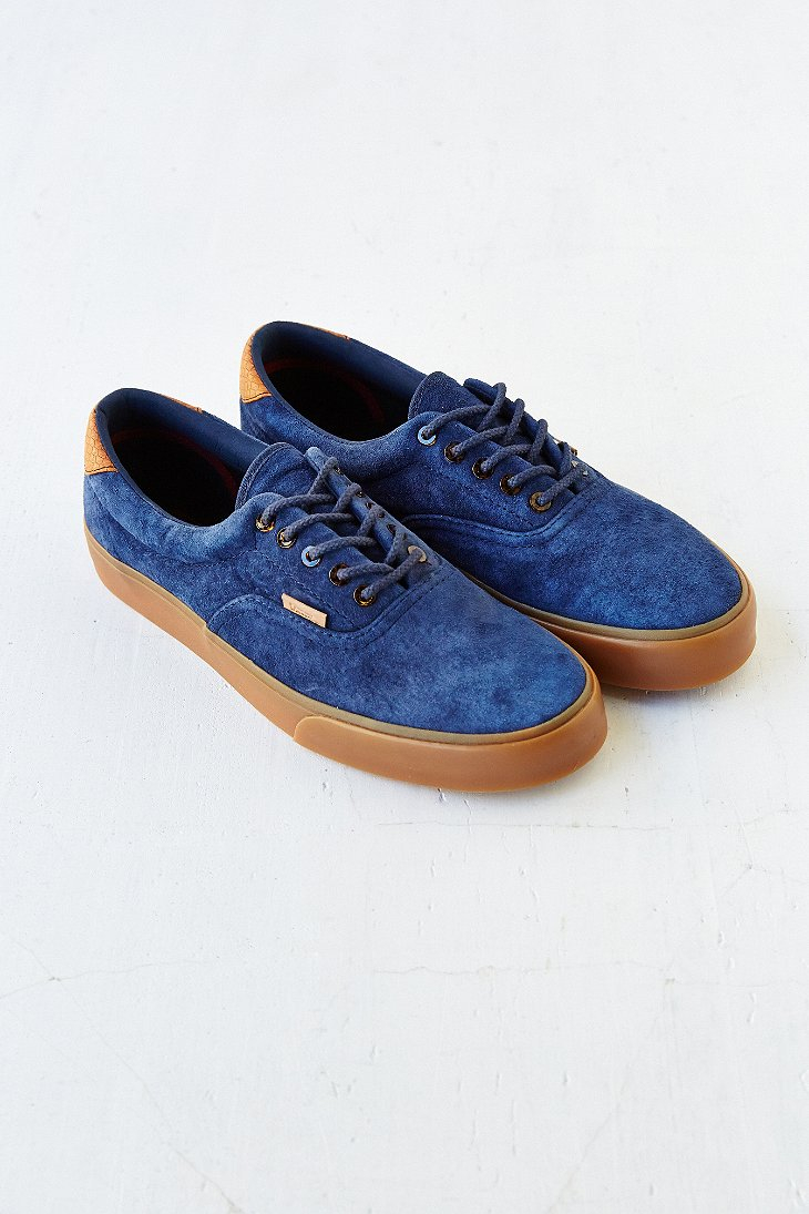 ddd7849bd58c Lyst - Vans Era 59 California Suede Gum-Sole Men S Sneaker in Blue ...