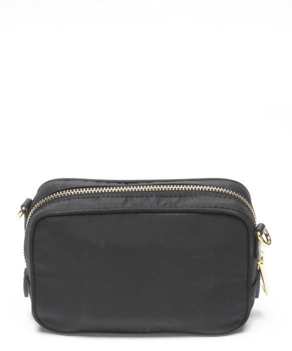 904402917a80 Prada Black Nylon Contenitore Tracolla Mini Shoulder Bag in Black   Lyst
