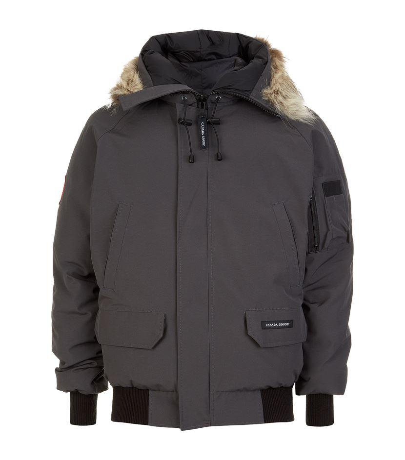 Canada goose Chilliwack Bomber Jacket in Gray for Men (Graphite ...