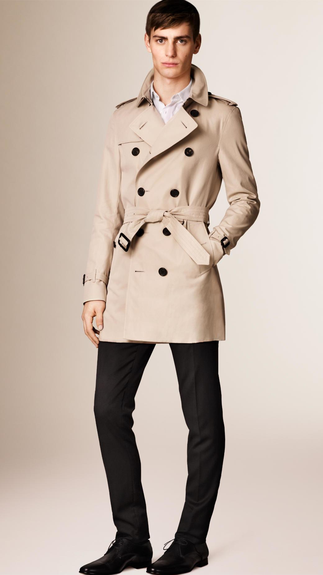 burberry mens trench coat