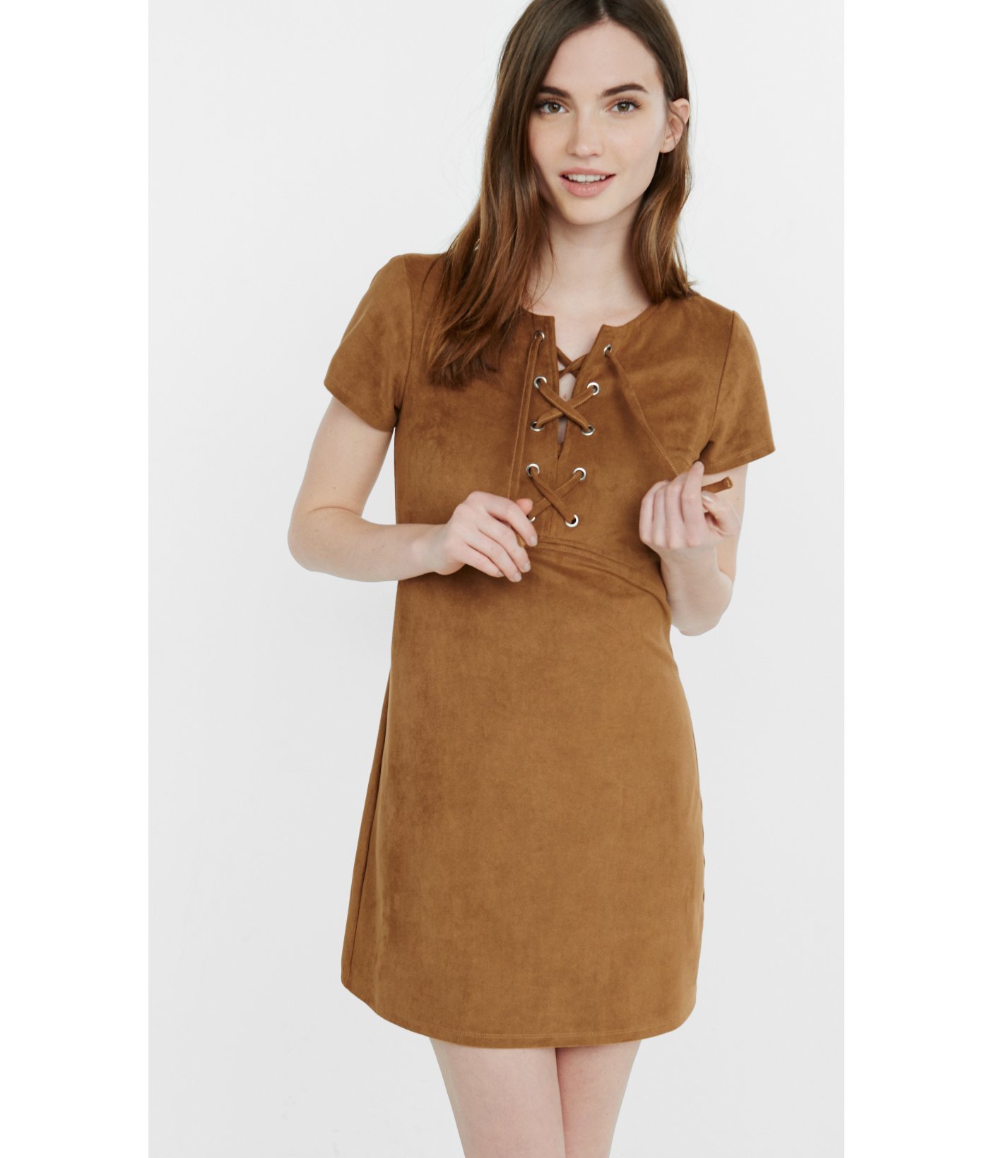 Buy Lace brown dresses picture trends