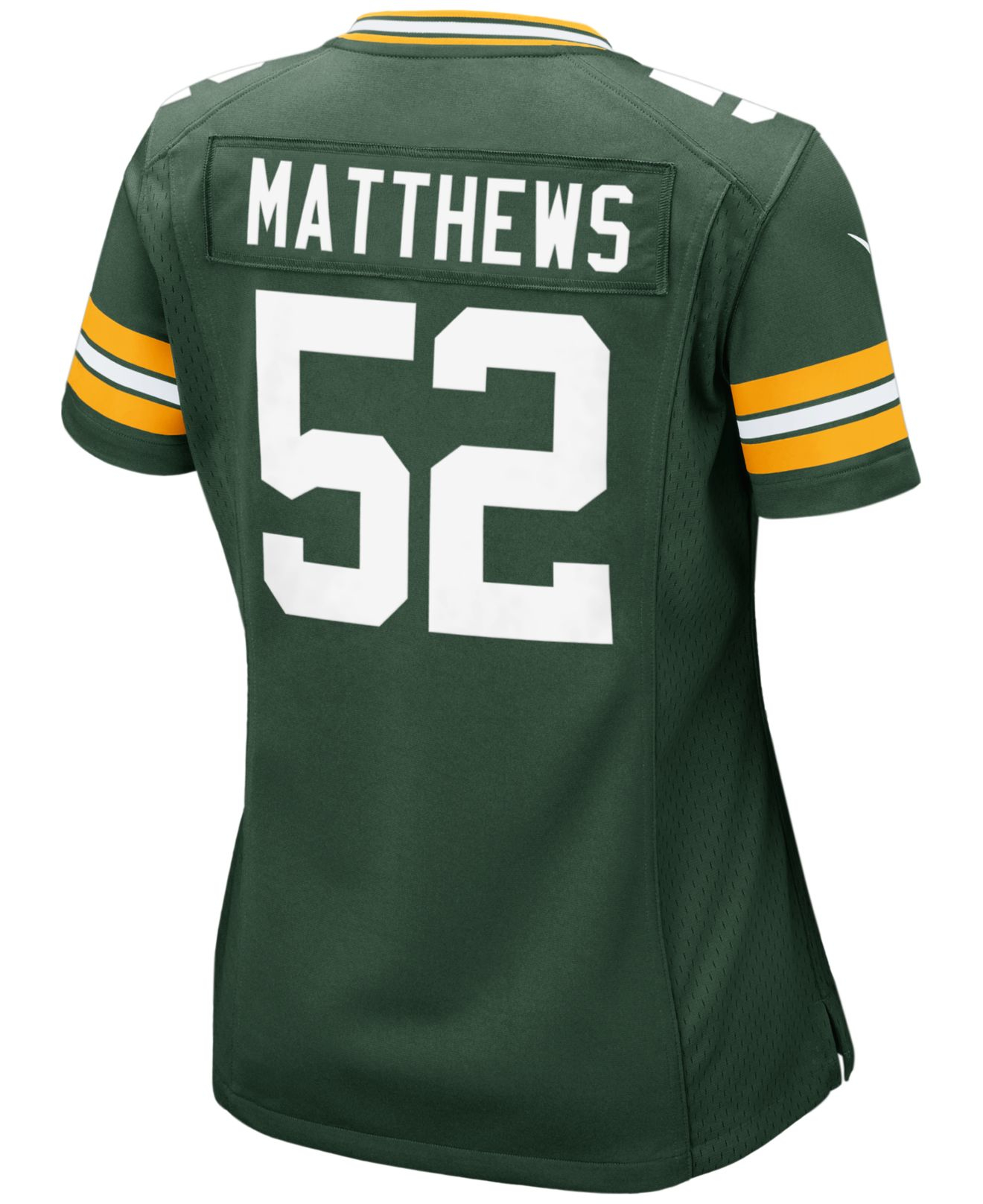 Nike Women S Clay Matthews Green Bay Packers Game Jersey