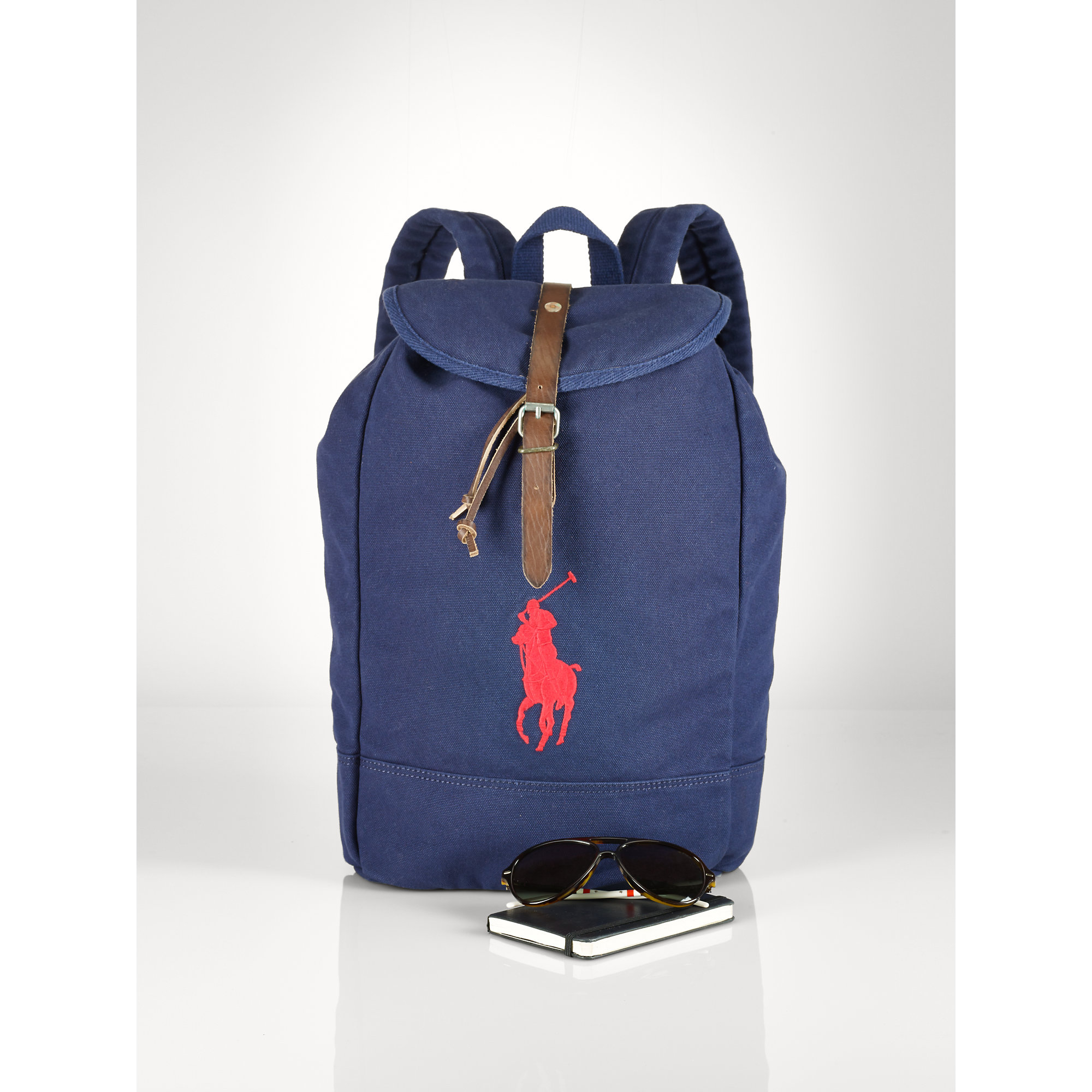 Lyst - Polo Ralph Lauren Big Pony Backpack in Blue for Men 7646a550445a5