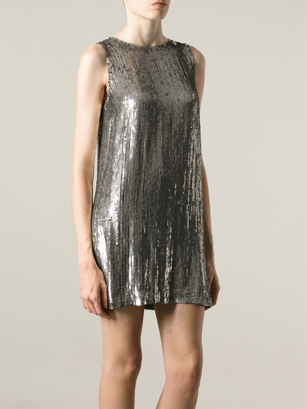 P.A.R.O.S.H. sequined shift dress Cheap Wholesale Price Great Deals Cheap Price Sale With Credit Card Explore Cheap Online Discount Geniue Stockist nFumy