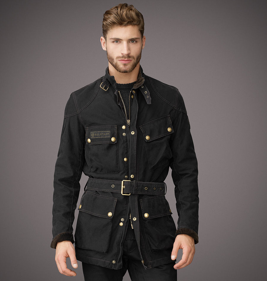 Belstaff Trialmaster Jacket Black