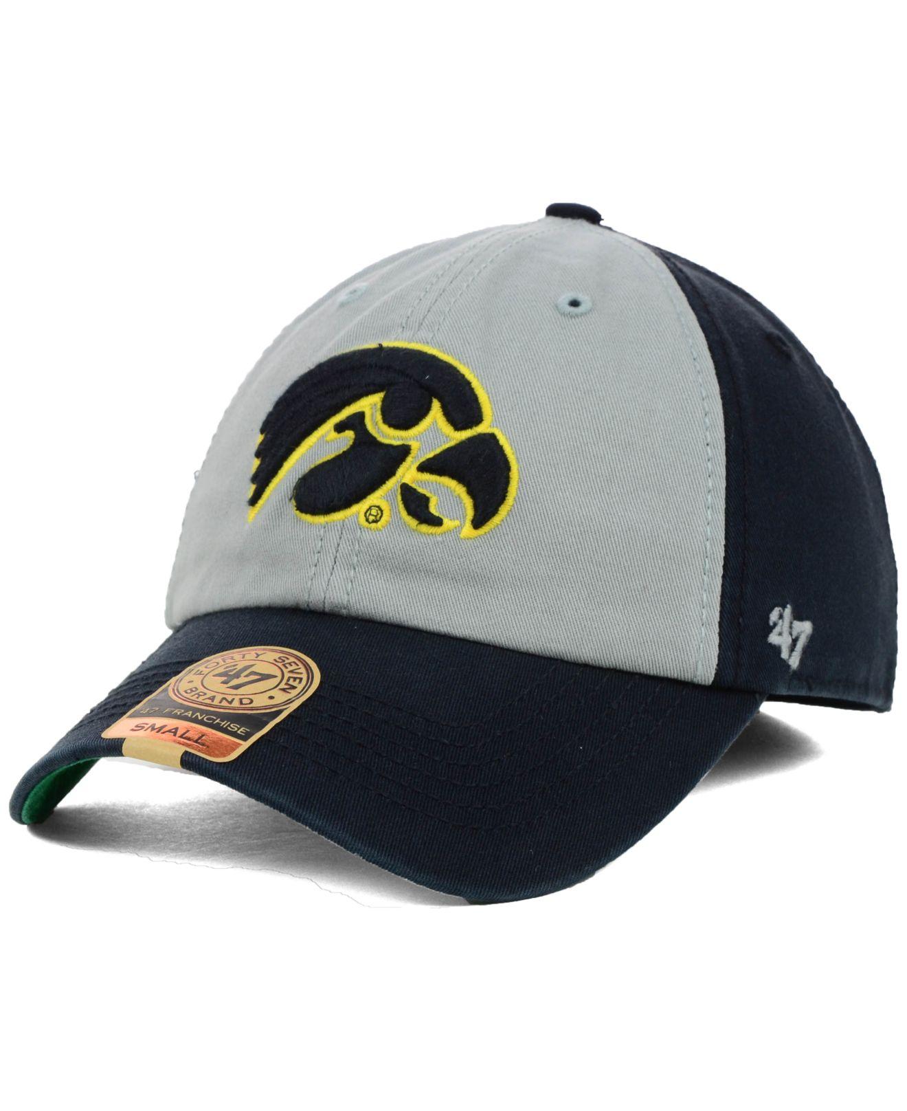 60045933658f5 47 Brand Iowa Hawkeyes Vip Franchise Cap in Metallic for Men - Lyst
