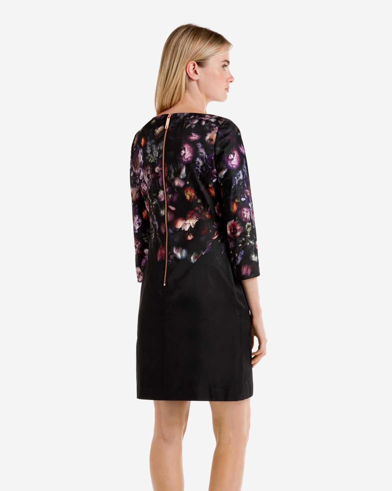 4b520e913 Ted Baker Atieno Shadow Floral Tunic Dress - Lyst