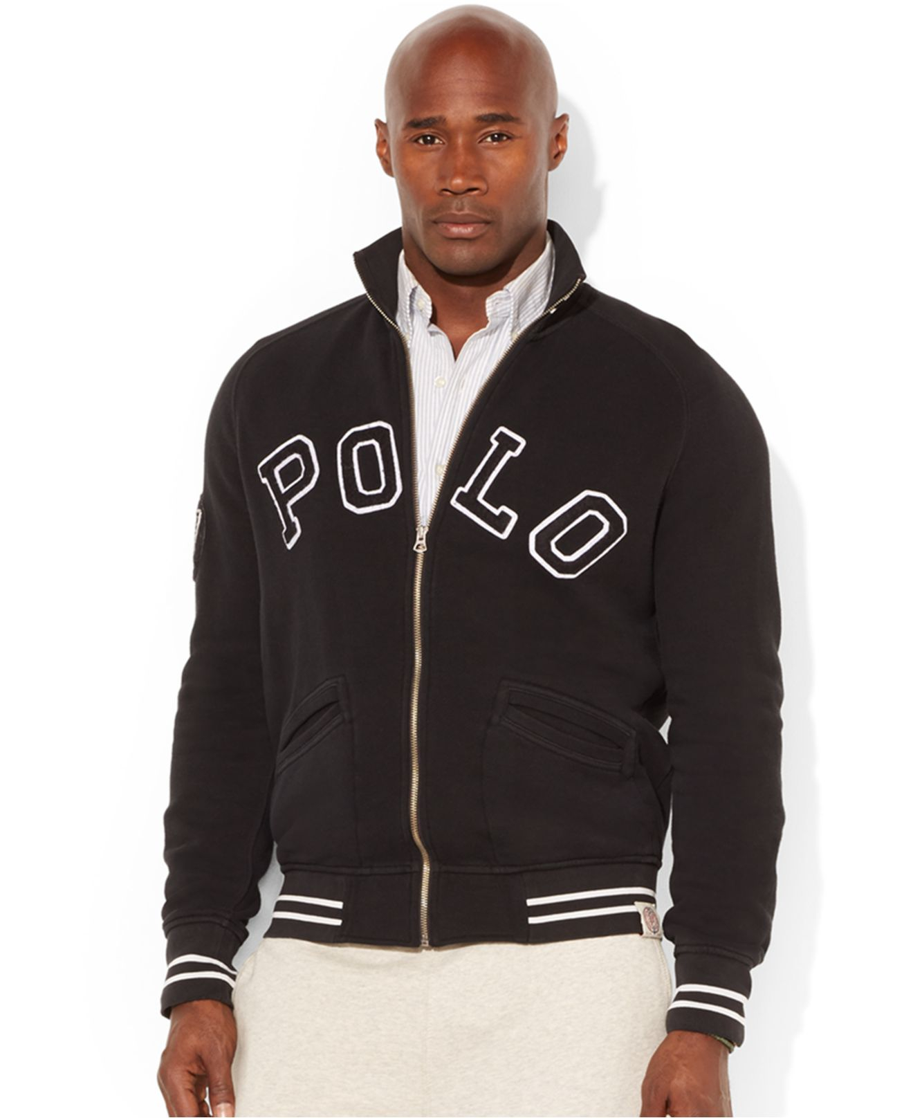 Lyst Polo Ralph Lauren Big And Tall Fleece Track Jacket