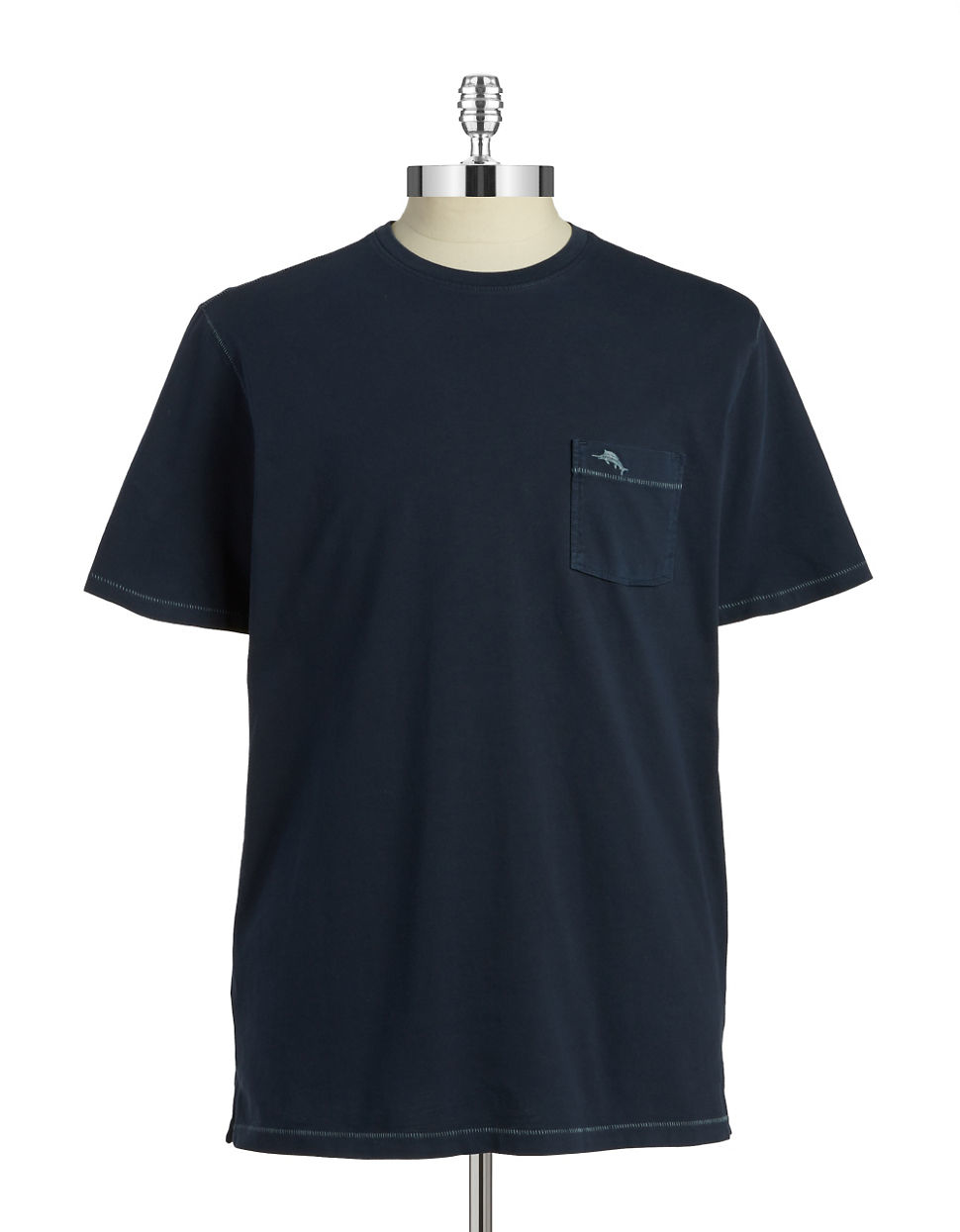 Tommy Bahama Cotton Pocket Tee In Blue For Men Lyst
