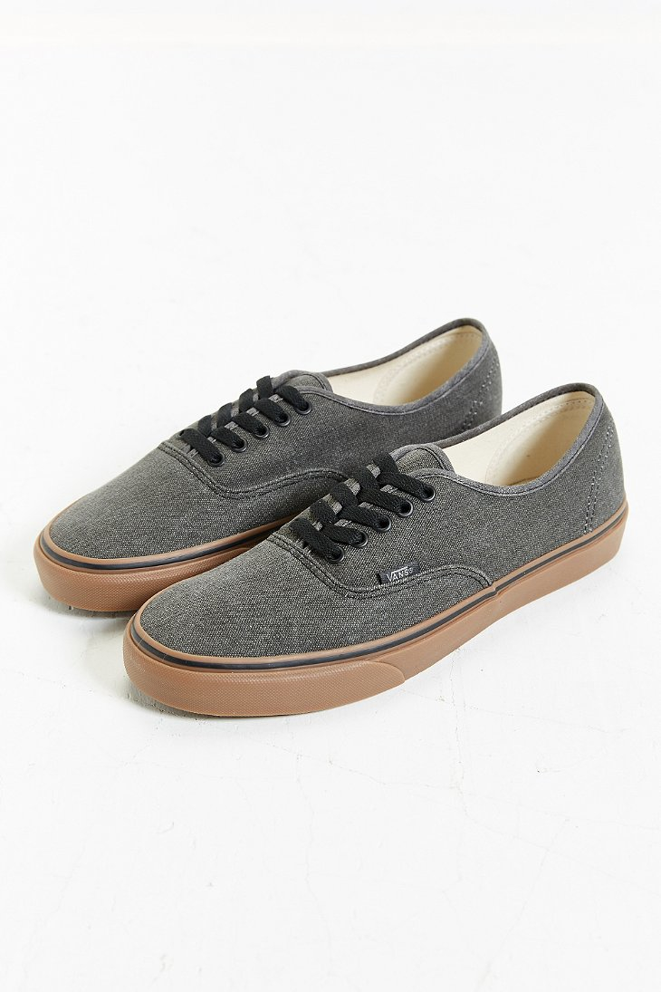 73c397153d Lyst - Vans Authentic Washed Gum Sole Sneaker in Gray for Men