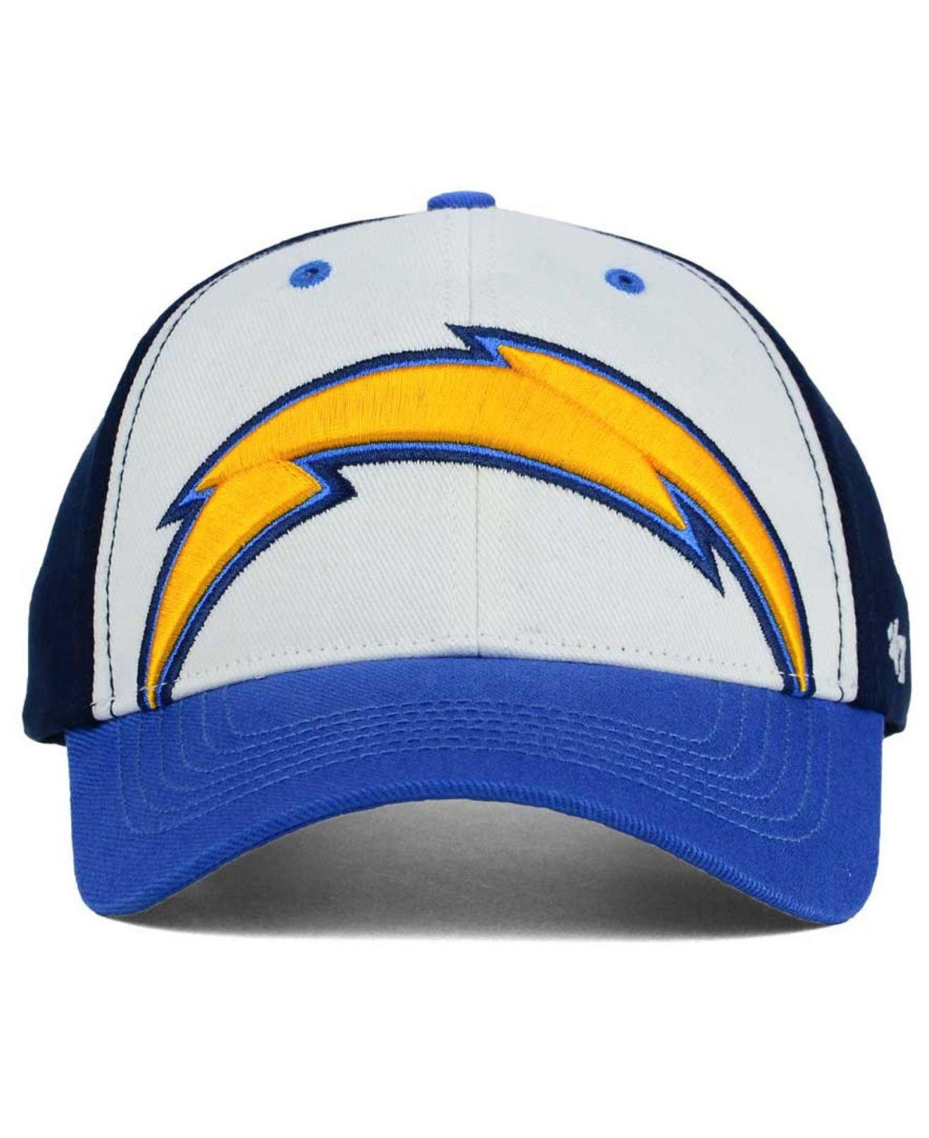 San Diego Chargers Blue: 47 Brand Kids' San Diego Chargers Lil Show Mvp Cap
