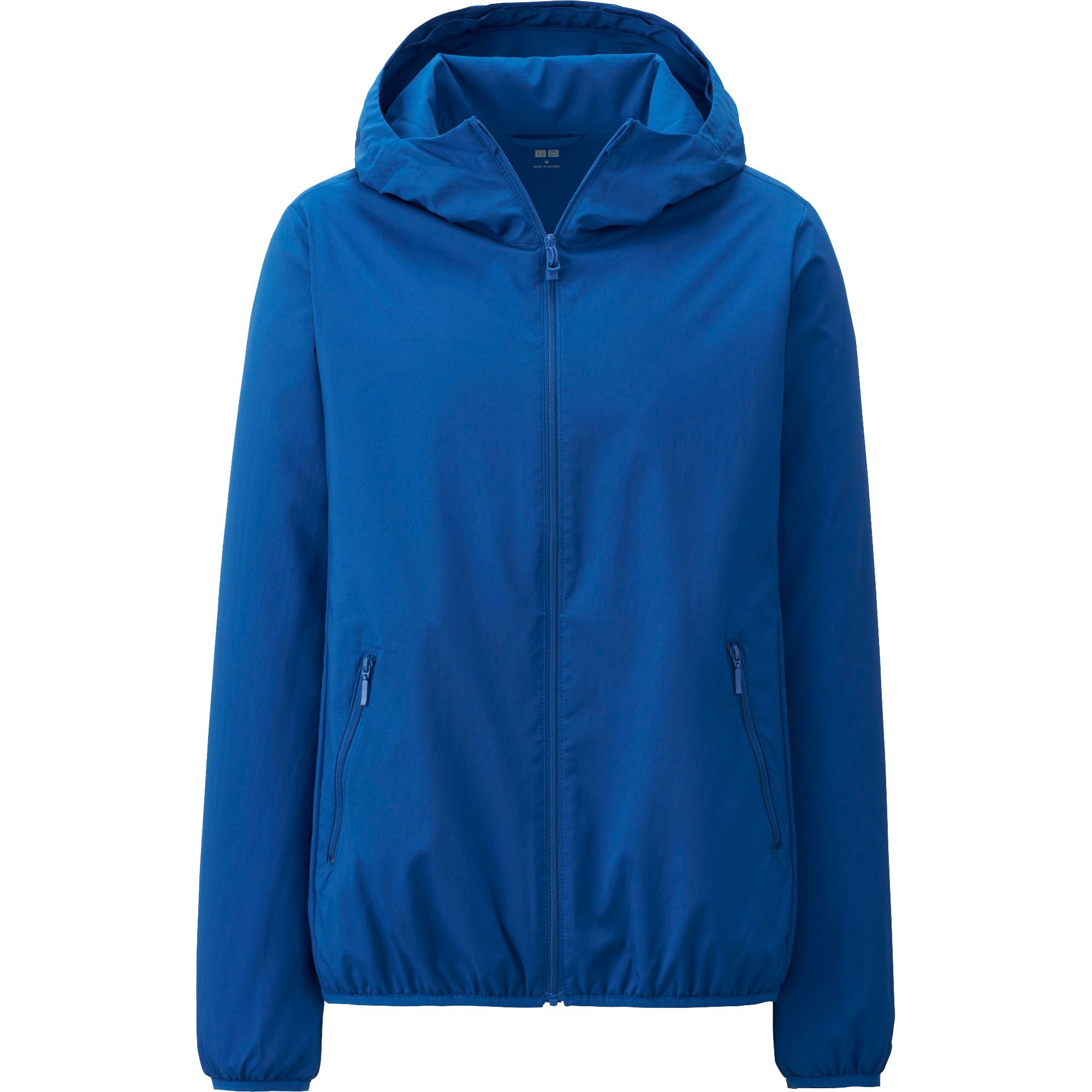 Uniqlo Light Pocketable Parka In Blue Lyst