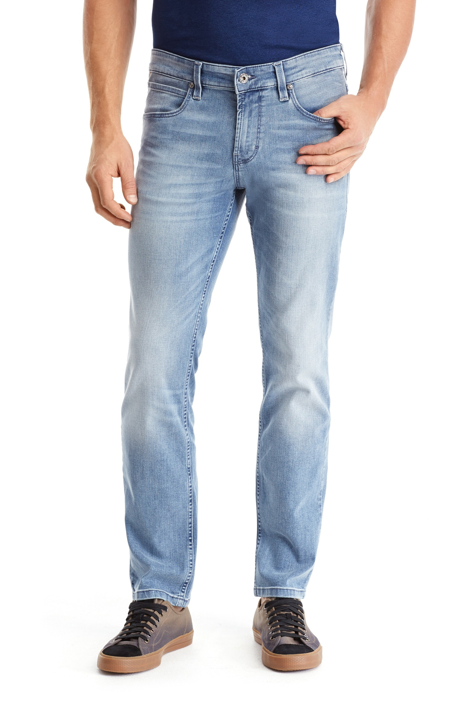 how to purchase sale online more photos 'Orange 63' | Slim Fit, Stretch Cotton Jeans