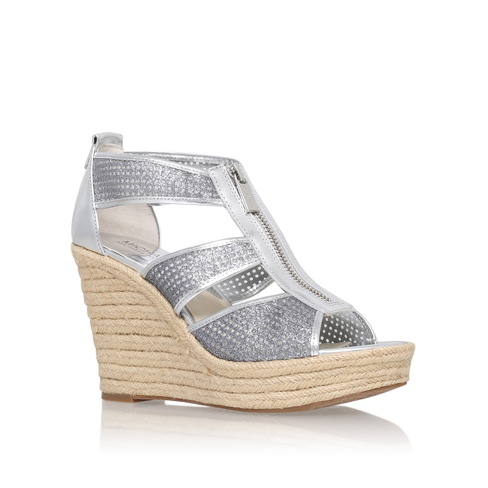ed5dbc1e0e03 Michael Michael Kors Damita Wedge in Metallic - Lyst