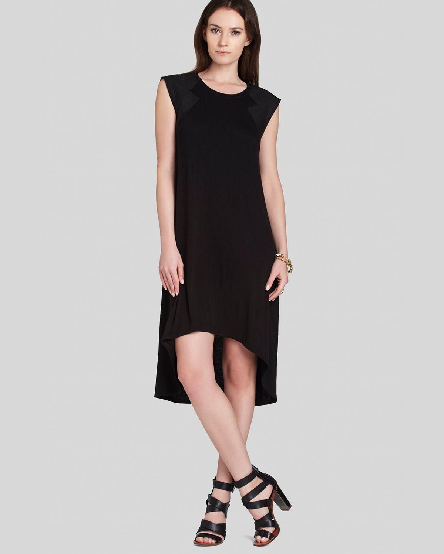 Bcbgmaxazria Bcbg Max Azria Dress Demi High Low in Black ...