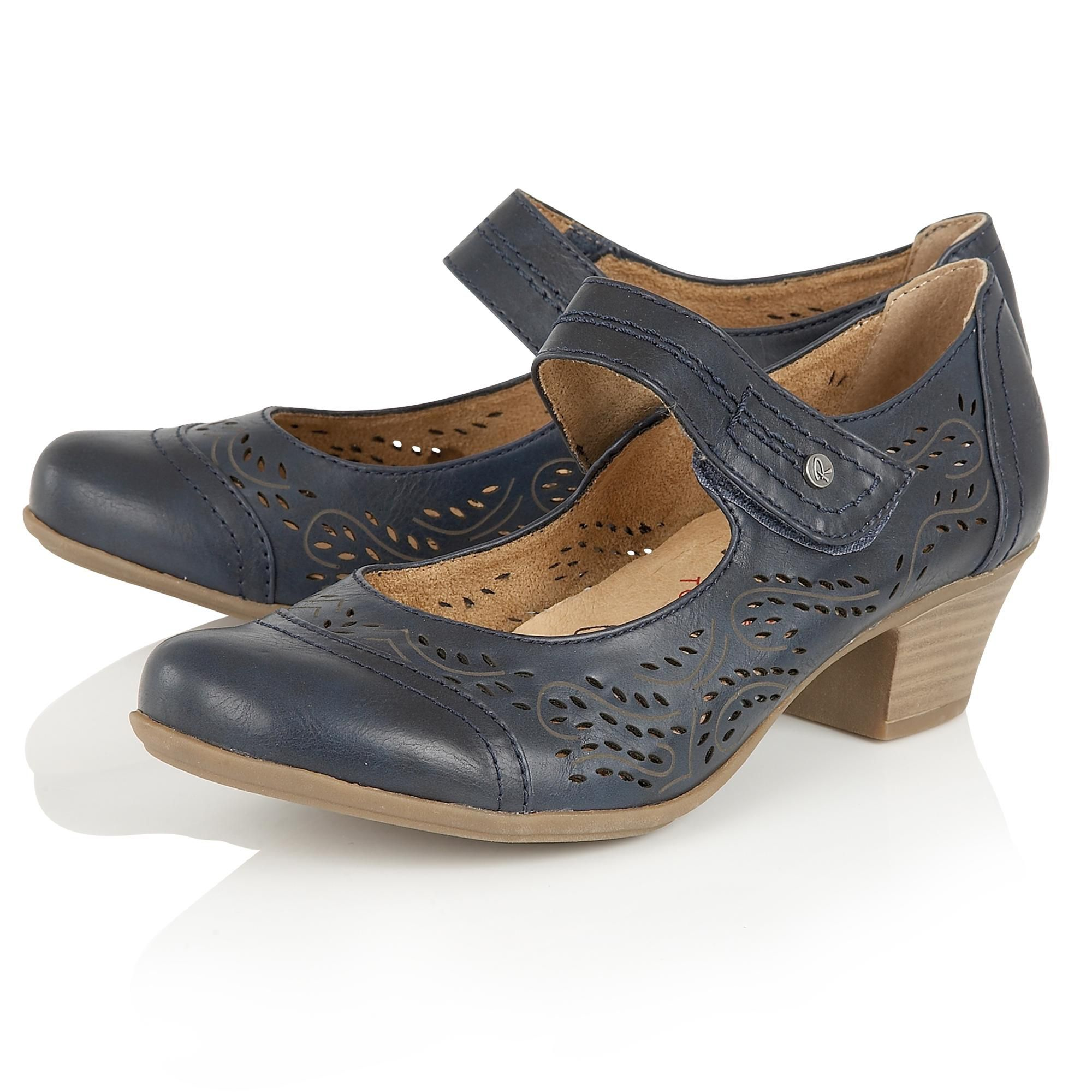 Giovanni Shoes Blue Heels