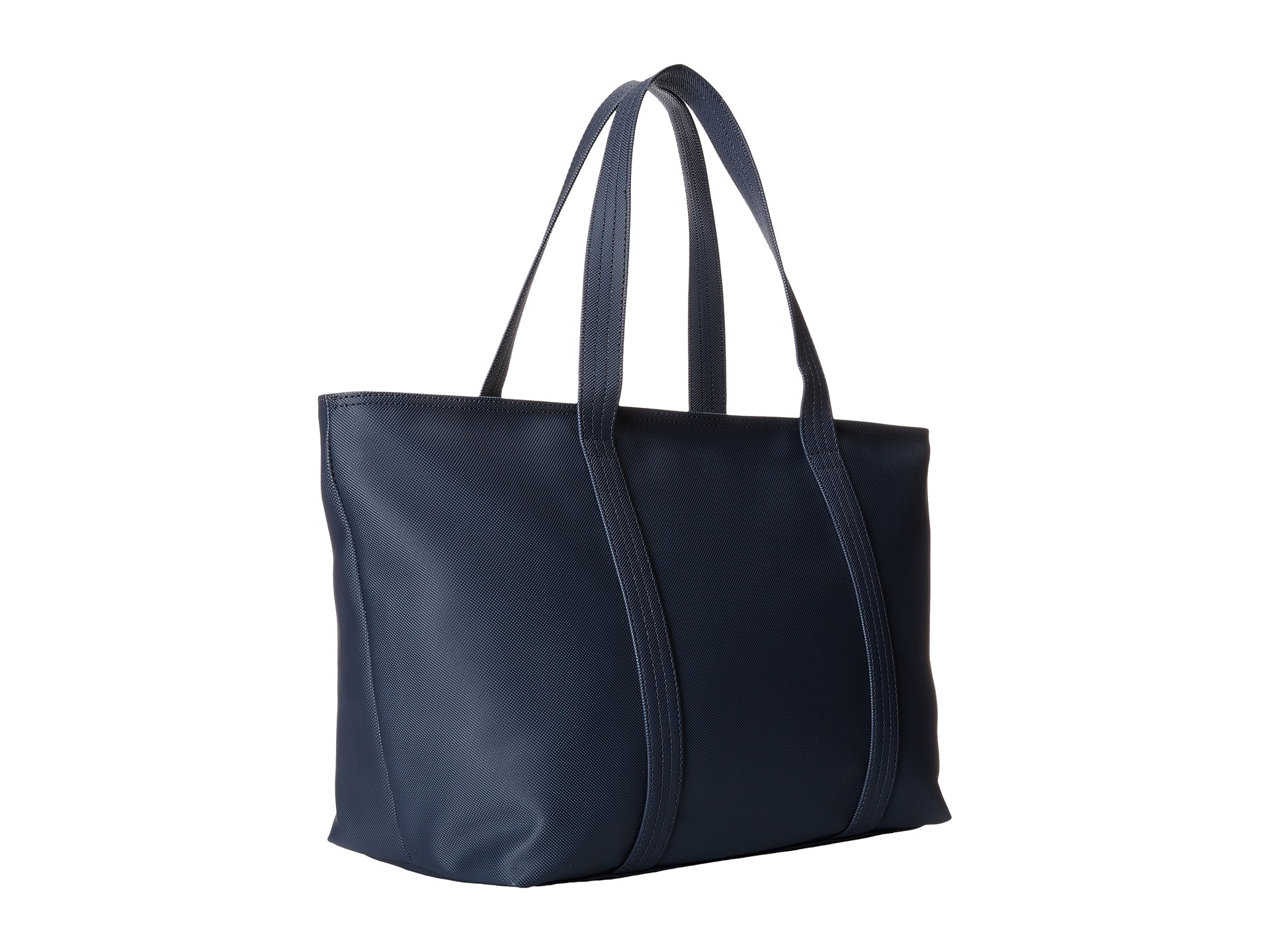 06612e5f9d15 Lyst - Lacoste Classic Large Shopping Bag in Black