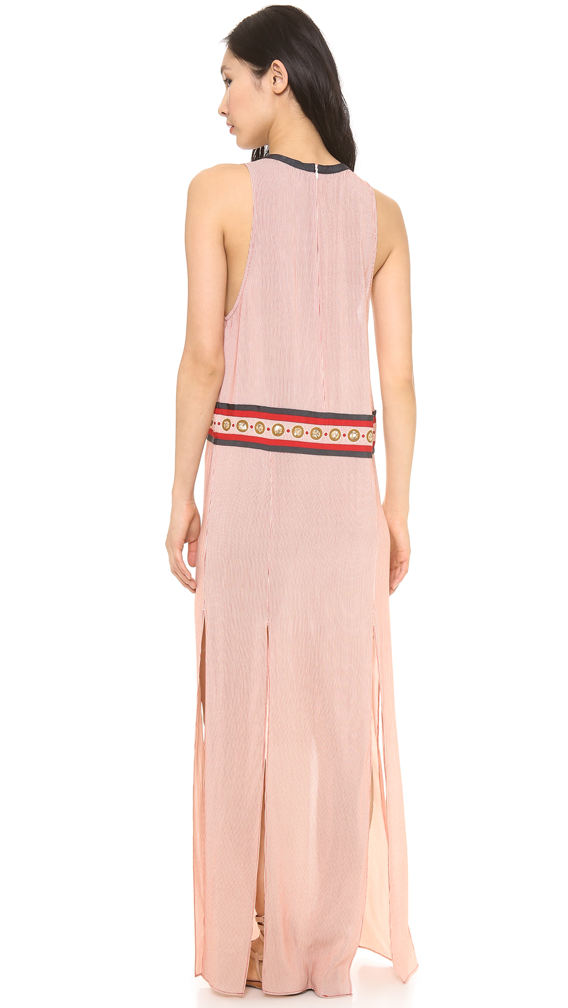 The Charmer Pages Lisa Kudrow For More: Sass & Bide The Charmer Maxi Dress In Pink