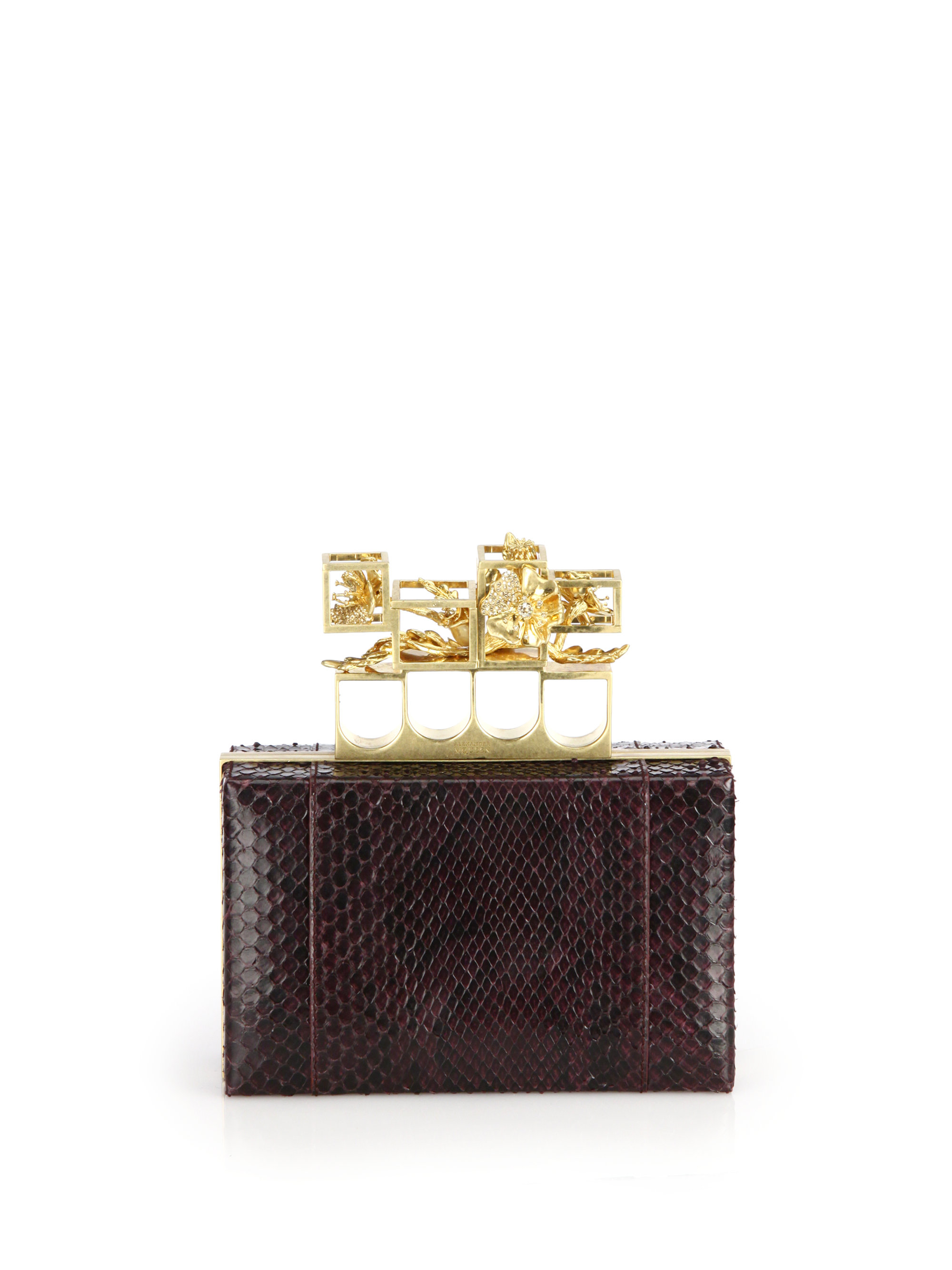 Gallery. Previously sold at: Saks Fifth Avenue · Women's Alexander Mcqueen  Knuckle Box