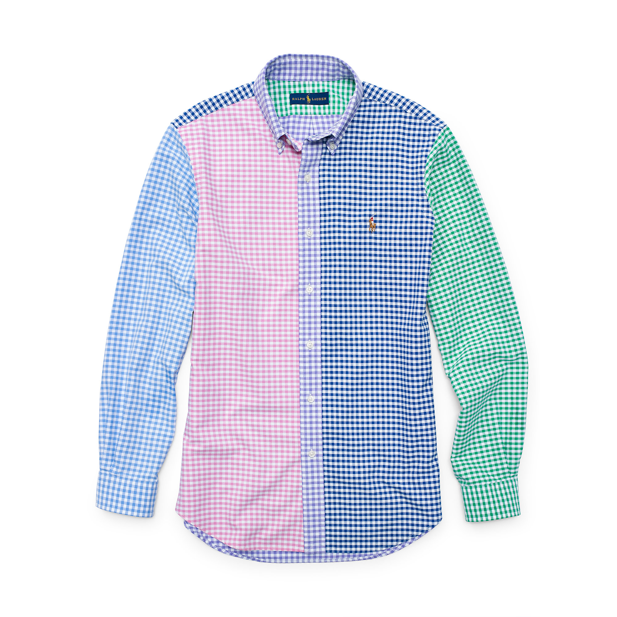 03400f11eae0 ... closeout lyst polo ralph lauren fun oxford sport shirt for men c8afd  5fc80