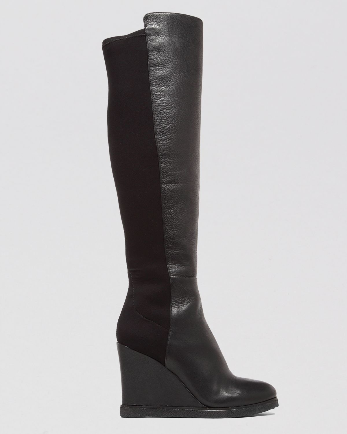 Vince camuto Tall Platform Wedge Boots - Kaelen in Black   Lyst