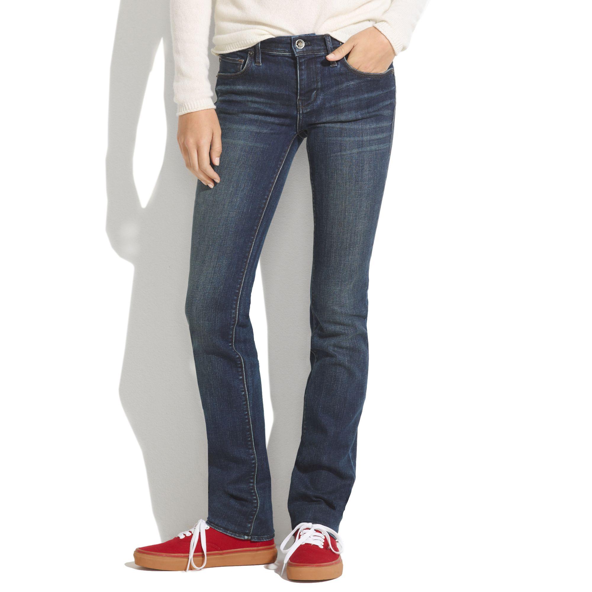 fantastic savings san francisco designer fashion Madewell Rail Straight Jeans In Oceanside Wash in Blue - Lyst