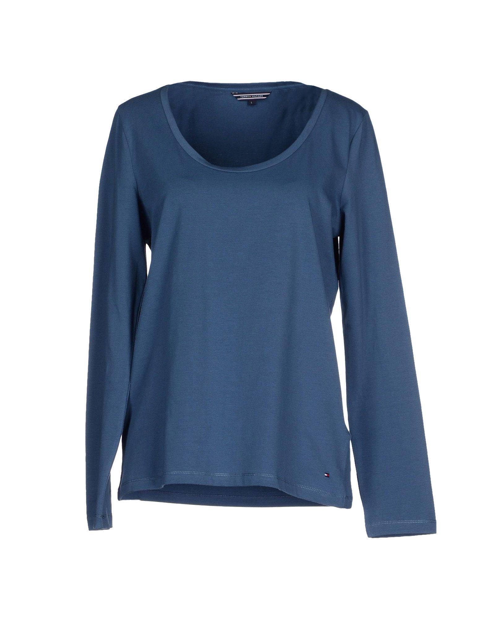 tommy hilfiger t shirt in blue pastel blue lyst. Black Bedroom Furniture Sets. Home Design Ideas