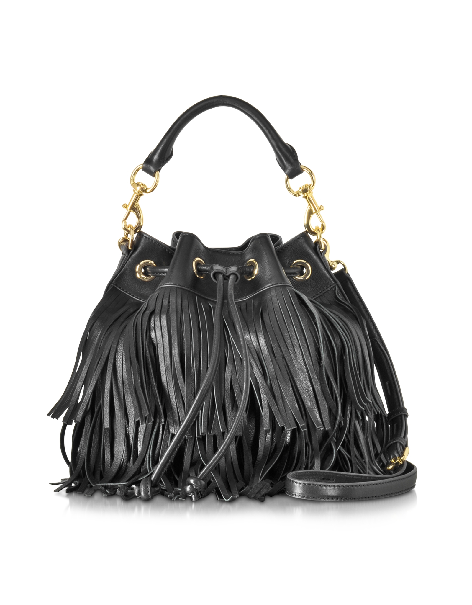 Gallery Women S Fringed Bags Perforated Leather