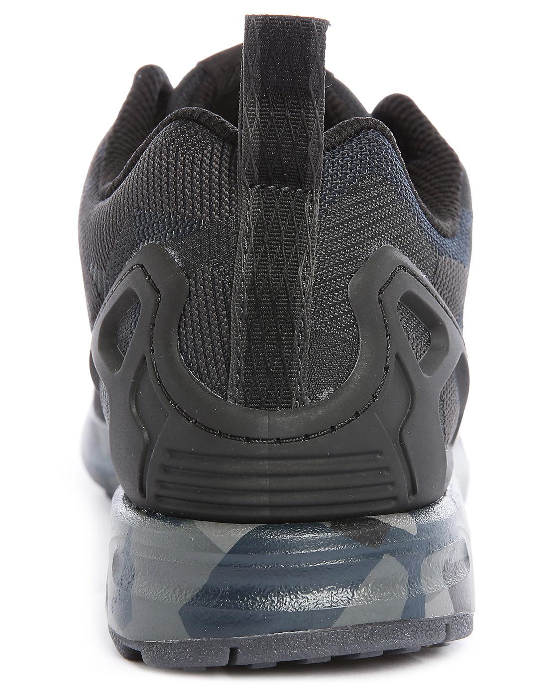 afew store sneaker adidas zx flux winter core black 勘履/a