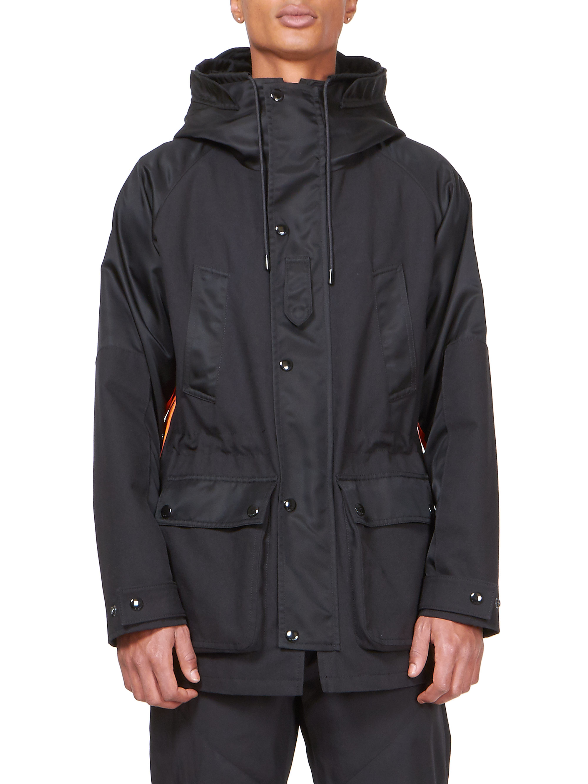 Givenchy Cotton Parka in Black for Men | Lyst