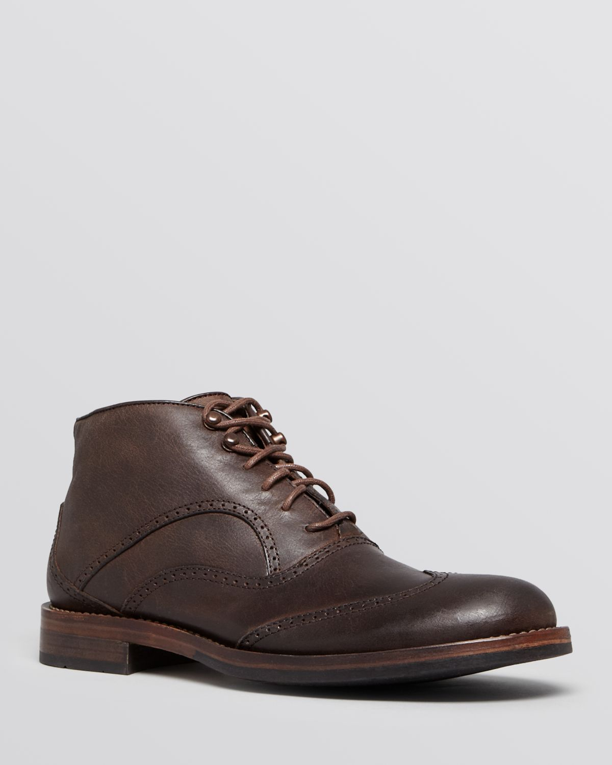 Wolverine Welsey Wingtip Chukka Boots in Brown for Men | Lyst