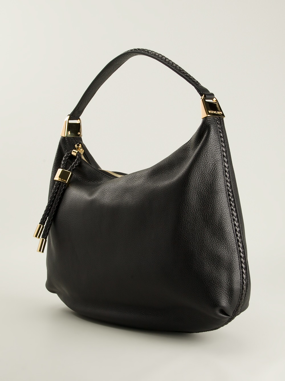 Michael Kors Skorpios Hobo Shoulder Bag in Black - Lyst